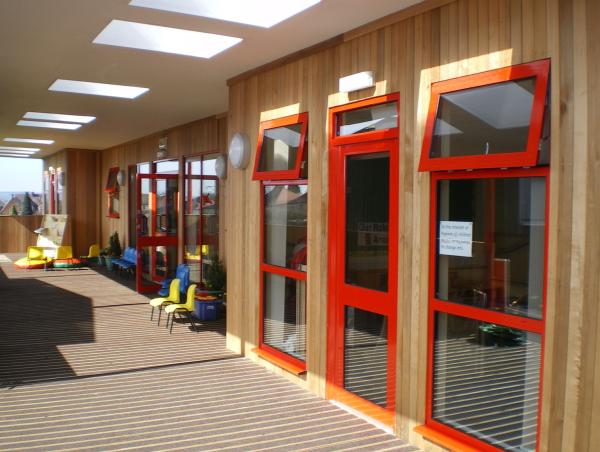 Heathfields Primary School Croft Architecture