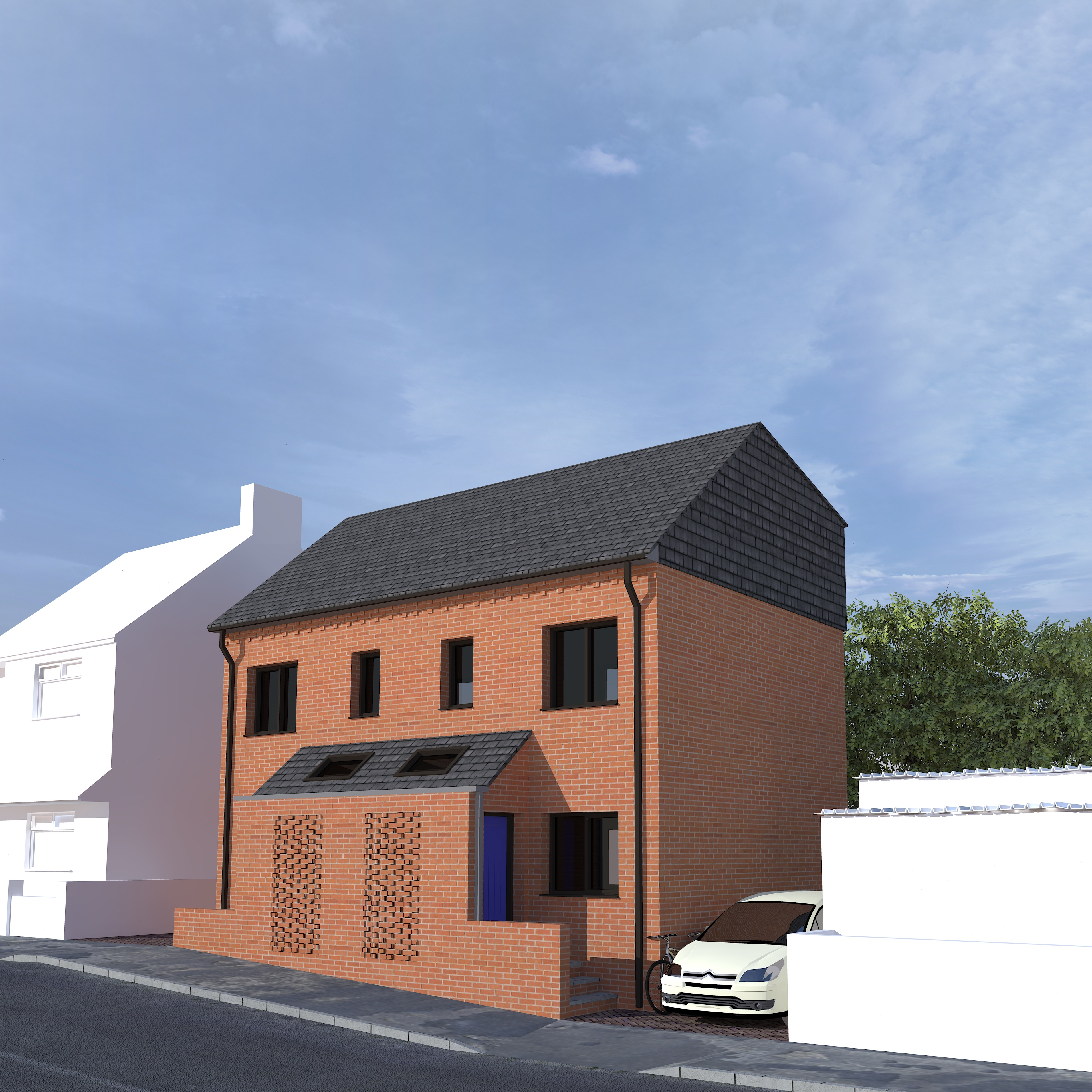 New affordable Housing Croft Architecture