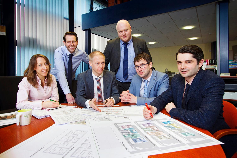 Croft Architecture team
