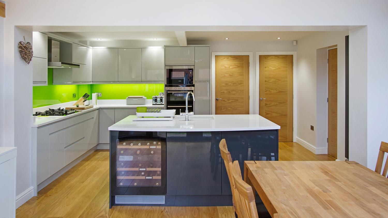 An oak framed kitchen extension Croft Architecture