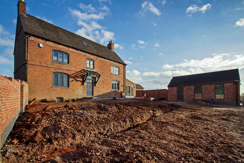 Restored Grade II Listed Farmhouse Croft Architecture Ltd