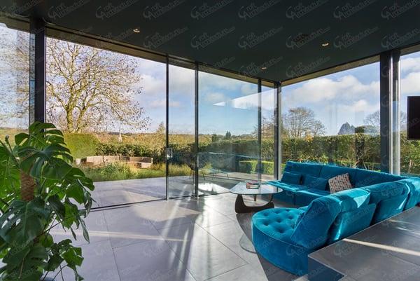 Croft Architecture Split Level Living Space