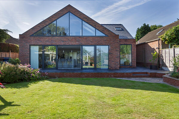 Croft Architecture Rear Elevation Eco Home