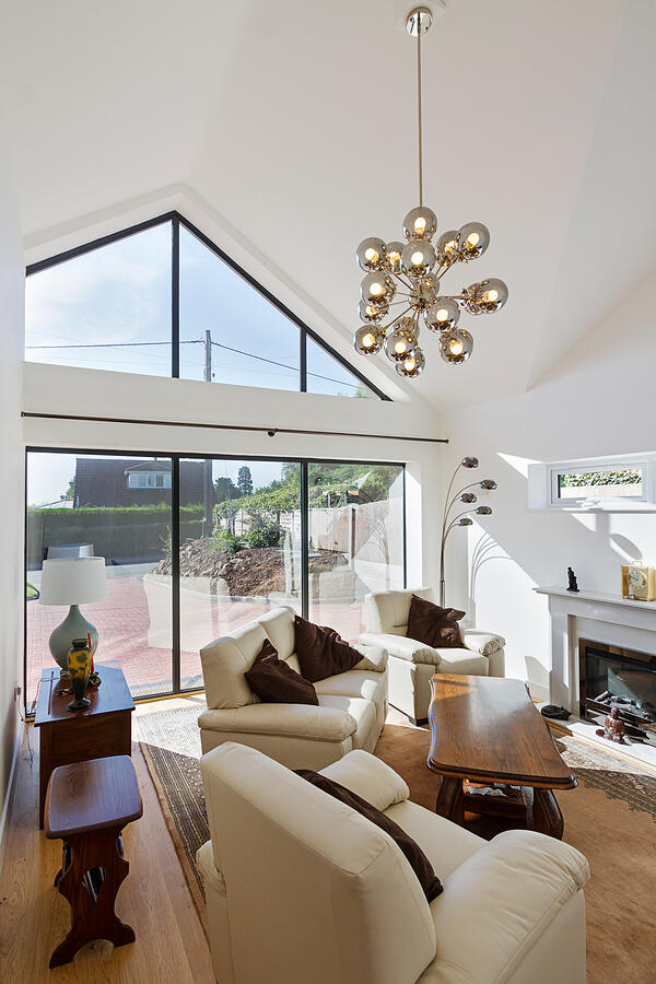 Croft Architecture Contemporary Living Space