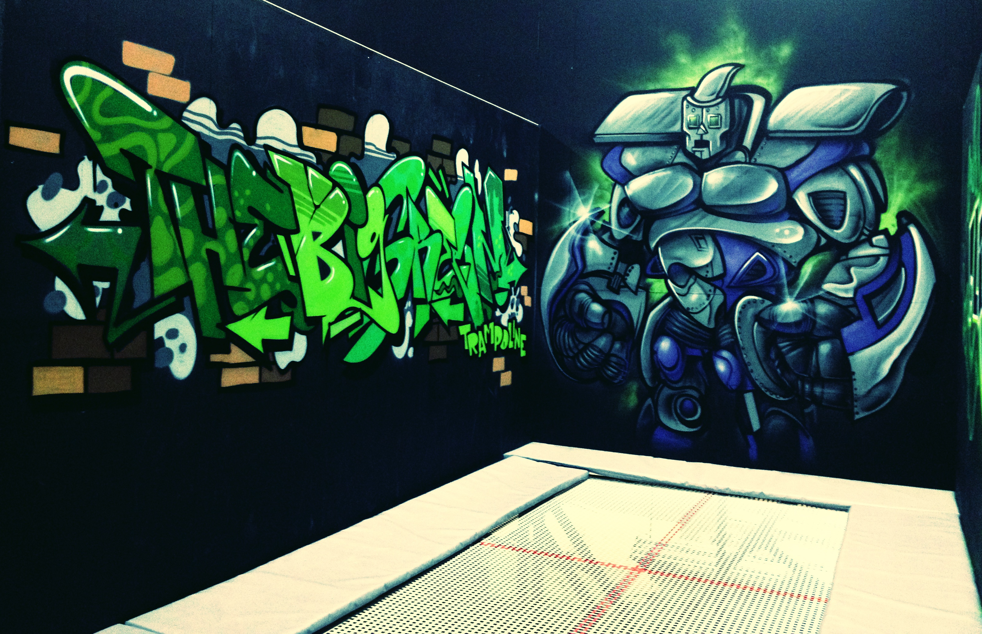 Flip Out Trampoline Arena Stoke
