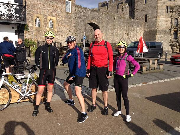 Charity Challenge complete for the County Air Ambulance