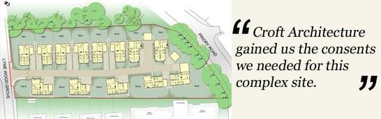 Town Centre Housing Croft Architecture