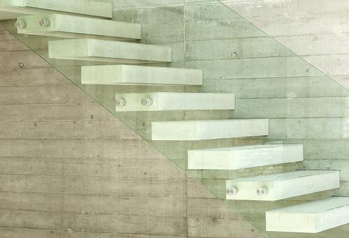 Contemporary Concrete stairs