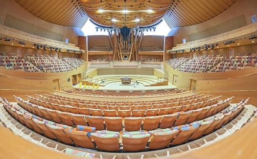 Concert Hall Accoustics Croft Architecture