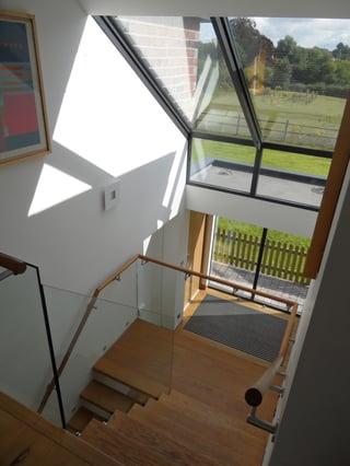 Glazed Stairway