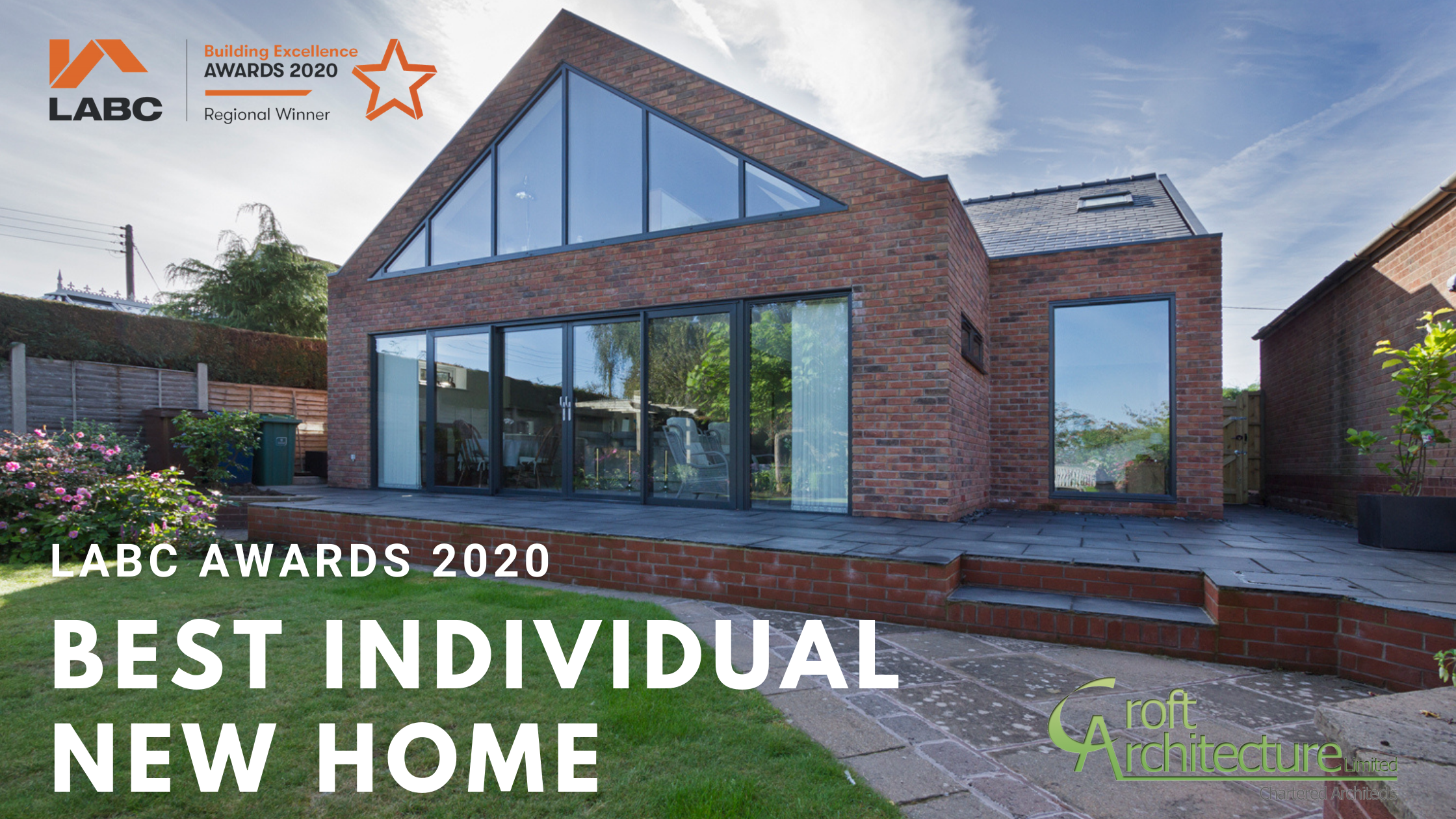 Croft Architecture wins LABC Building Excellence 'Best Individual New Home' Award