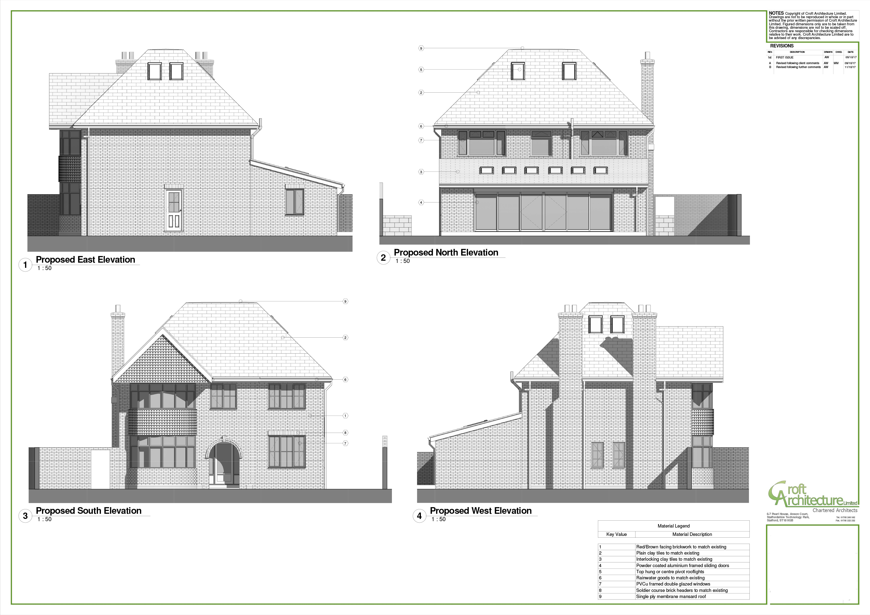Croft Architecture Home Renovation & Extension Elevations