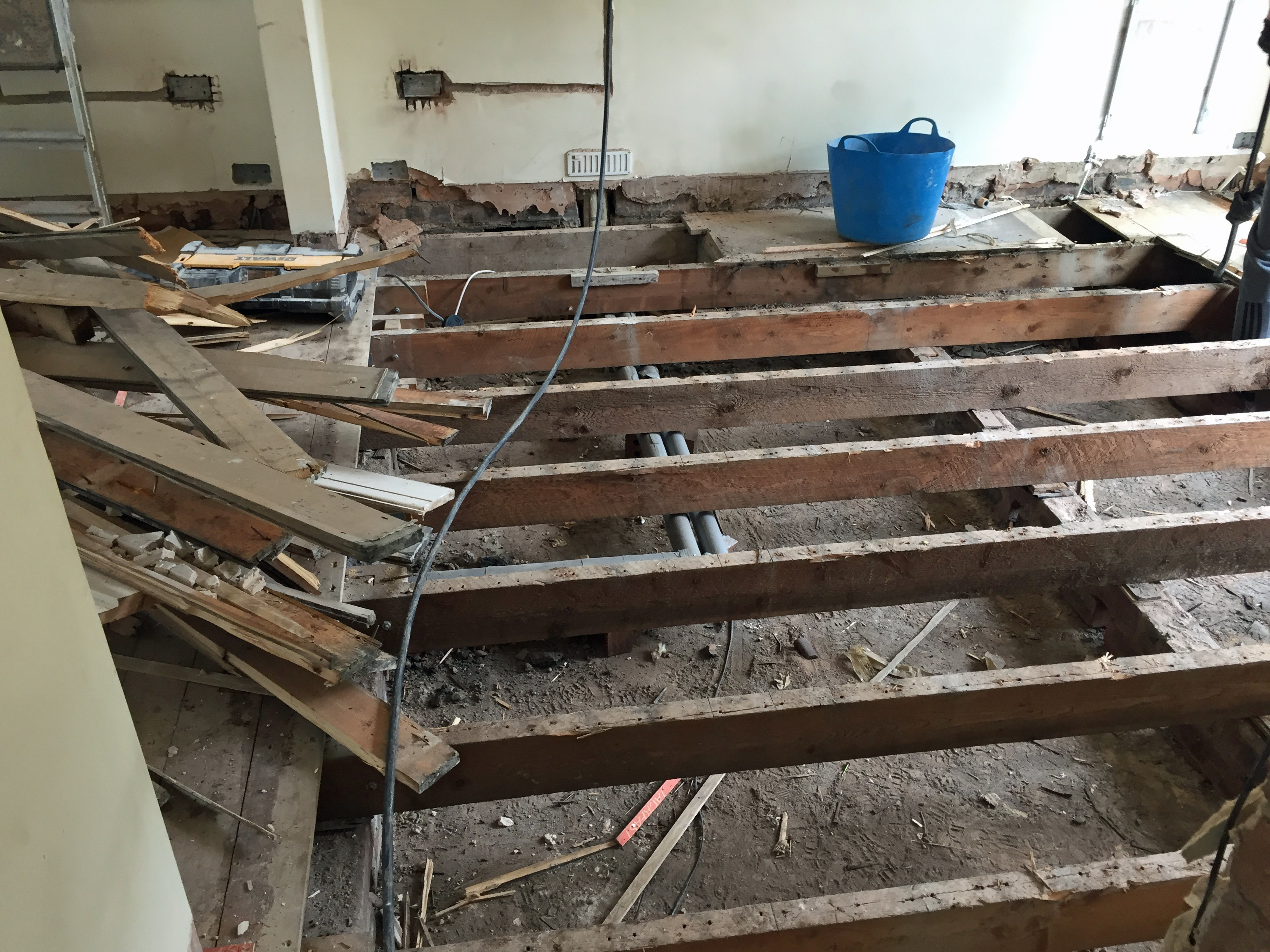Home Renovation Blog: Demolition Begins