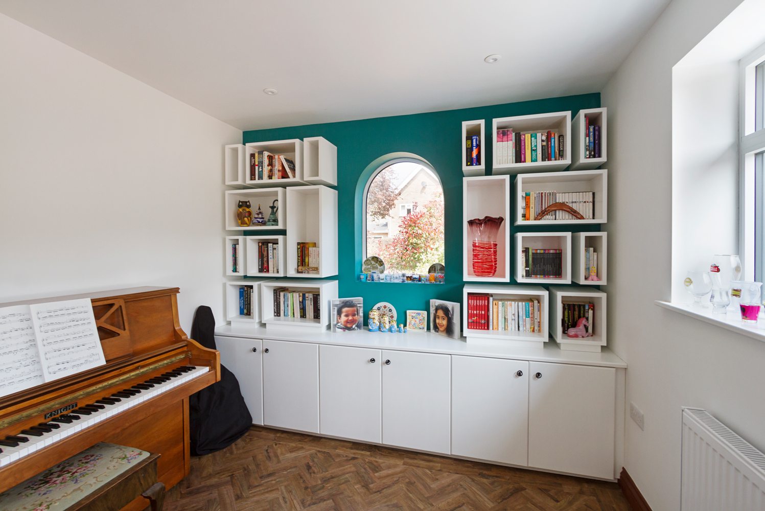 Croft Architecture Home Renovation Music Room