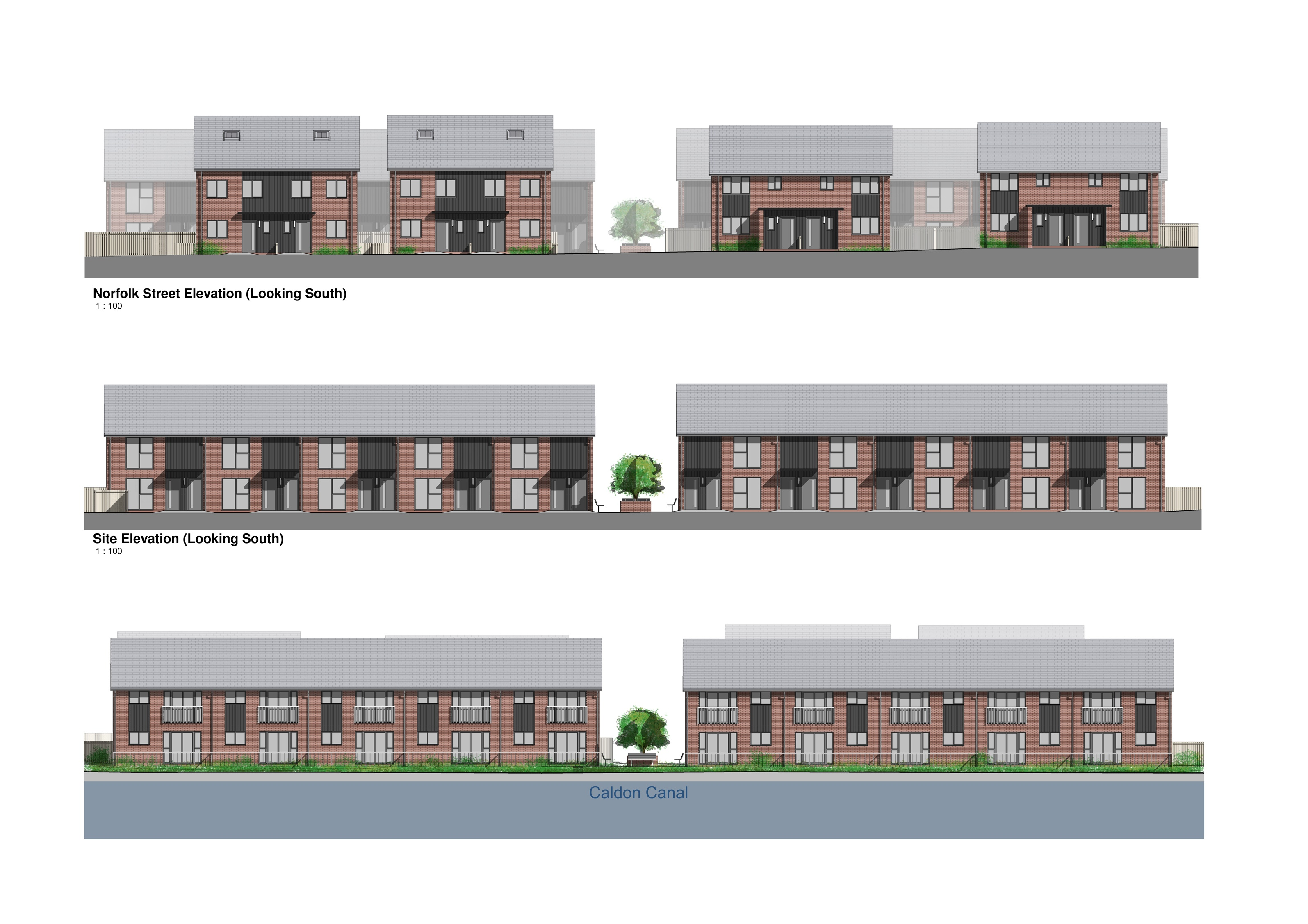 Croft Architecture Affordable Homes for Stoke On Trent City Council Norfolk Street
