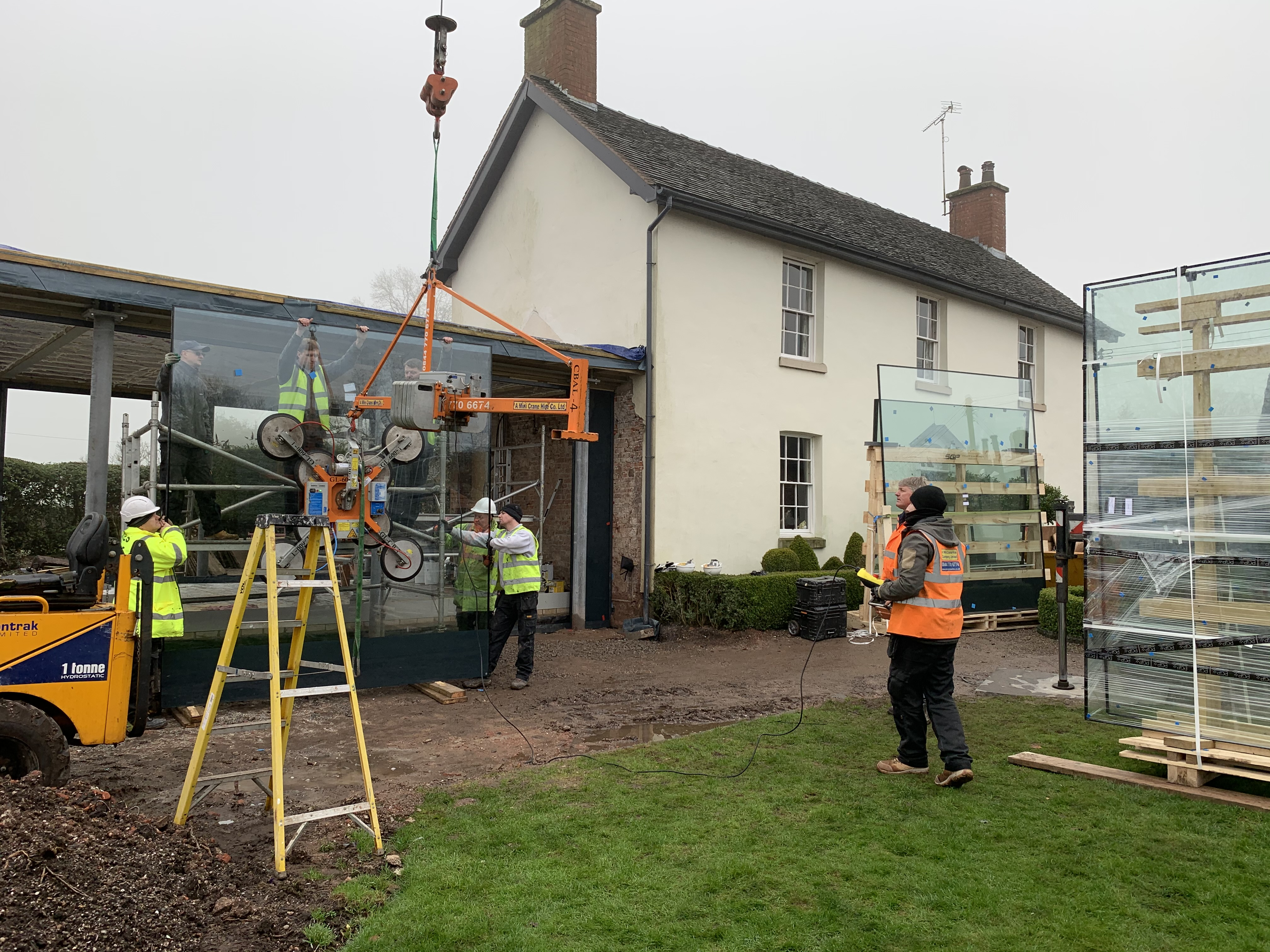 Croft Architecture Glass Installation Grade II Listed House