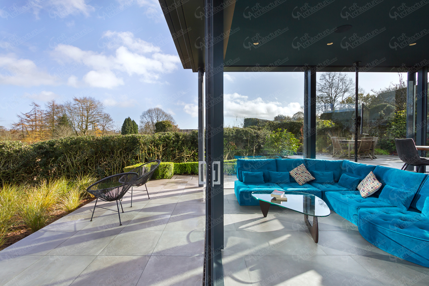 Croft Architecture Inside Outside Living Space