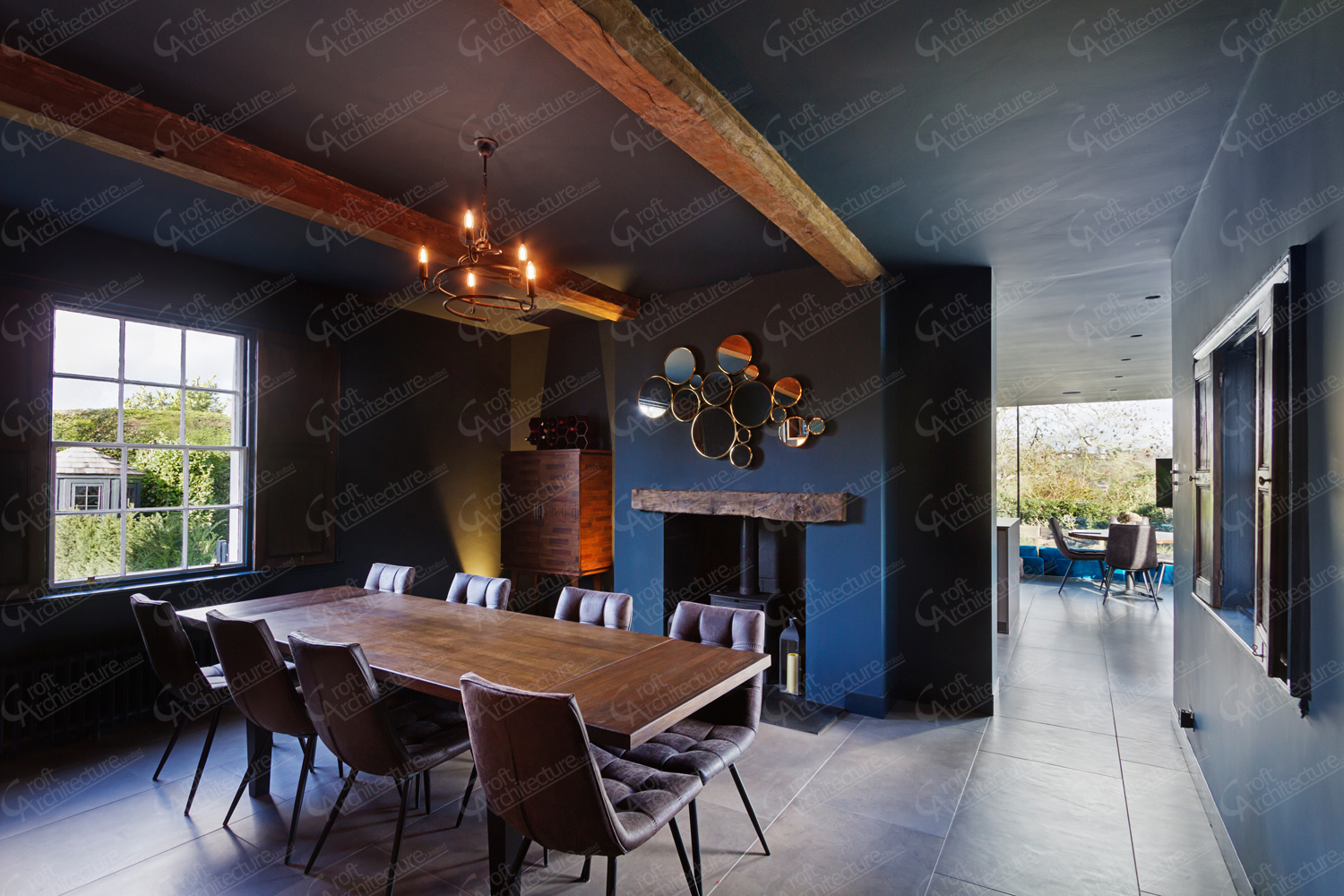 Croft Architecture Exposed Beams
