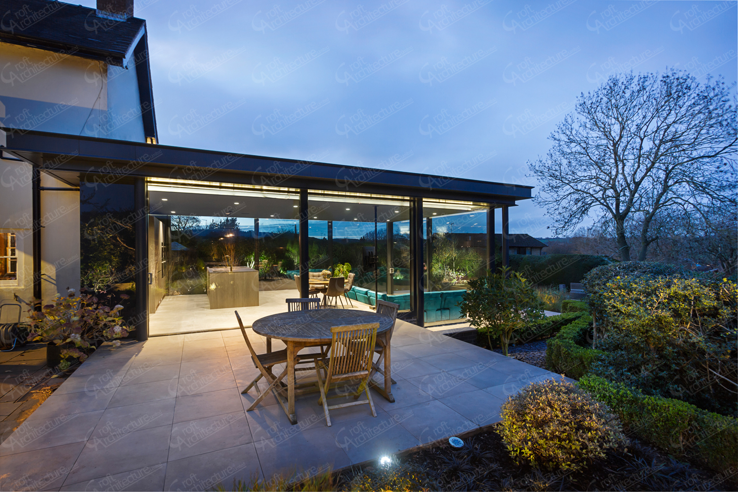 Croft Architecture Floor to Ceiling Glazing