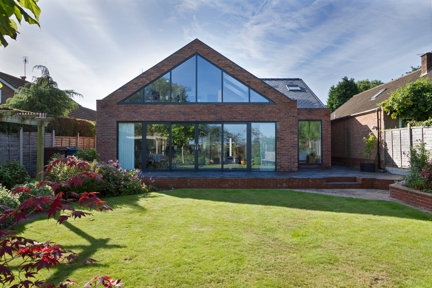 Croft Architecture Sustainable Self Build Rear Elevation