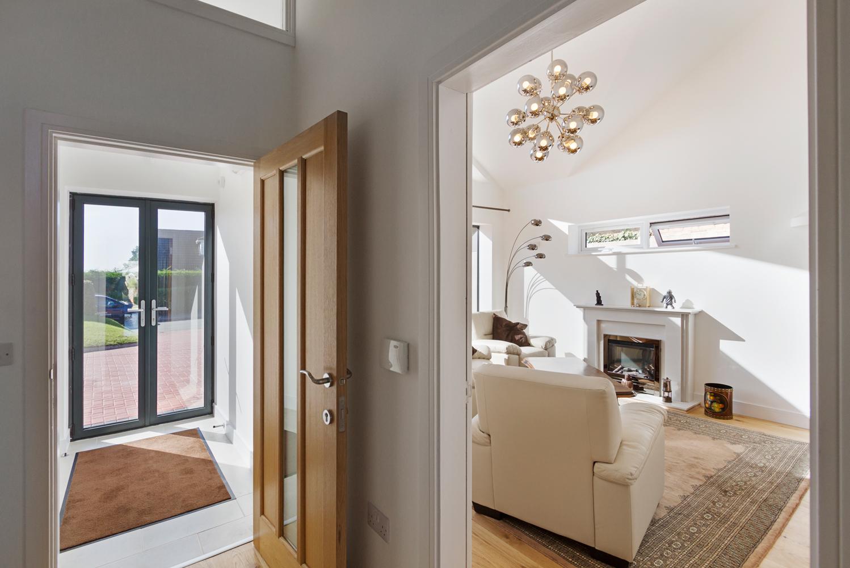 Croft Architecture Sustainable Self Build Hallway