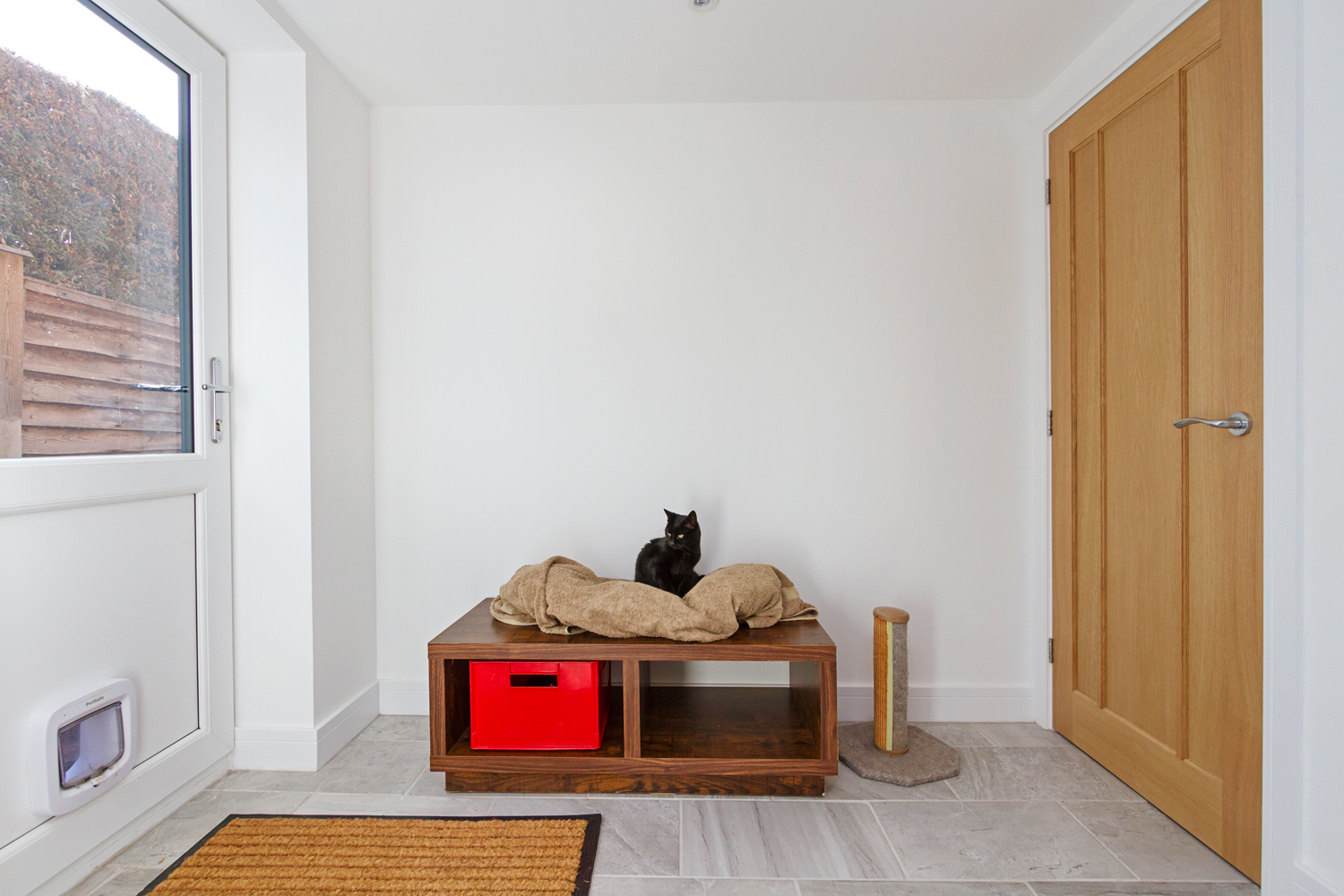 Croft Architecture Sustainable Self Build Cat Room