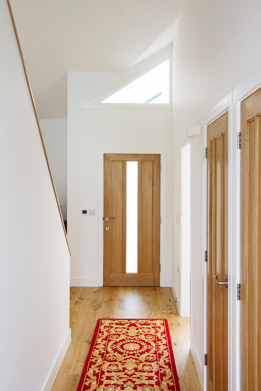 Croft Architecture Sustainable Self Build Hallway