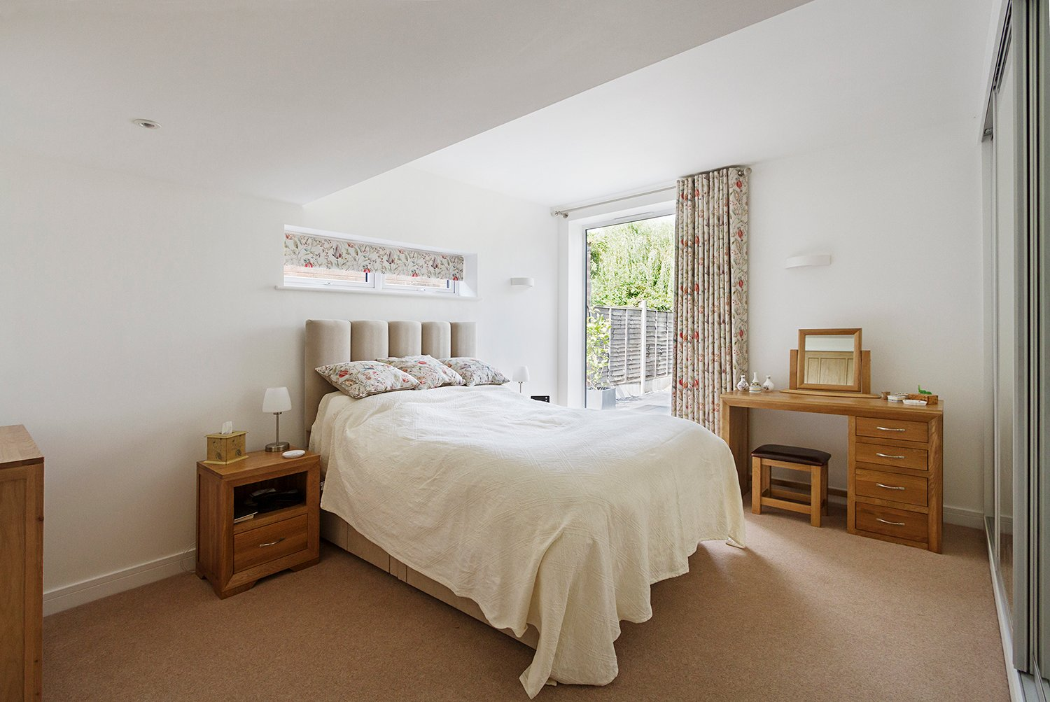 Croft Architecture Sustainable Self Build Master Bedroom