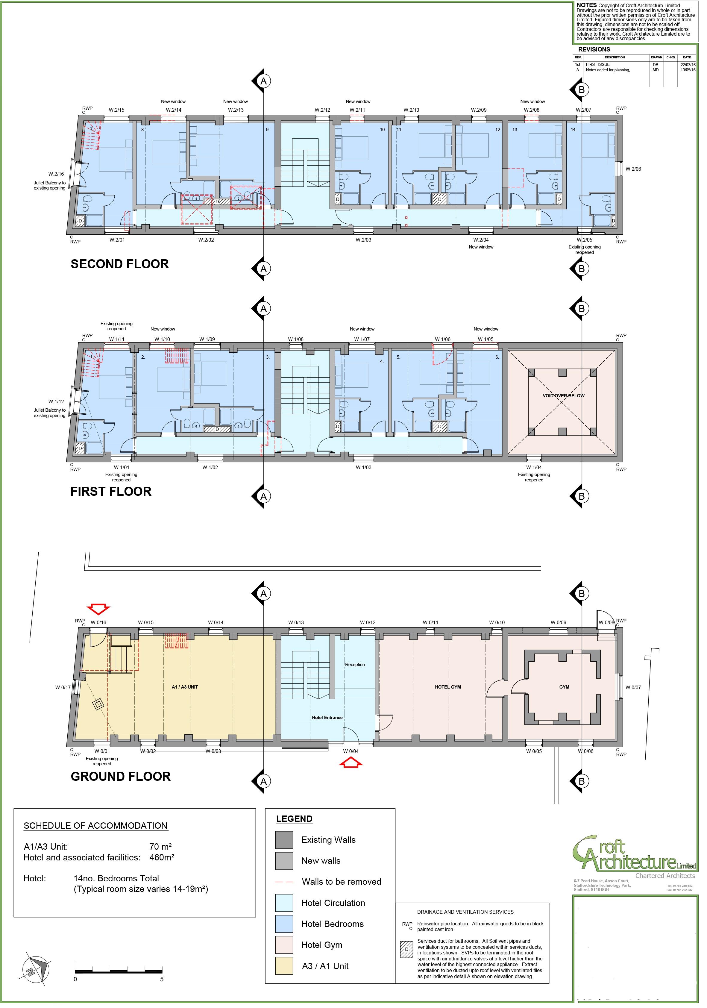 The Maltings Proposed Plans Croft Architecure